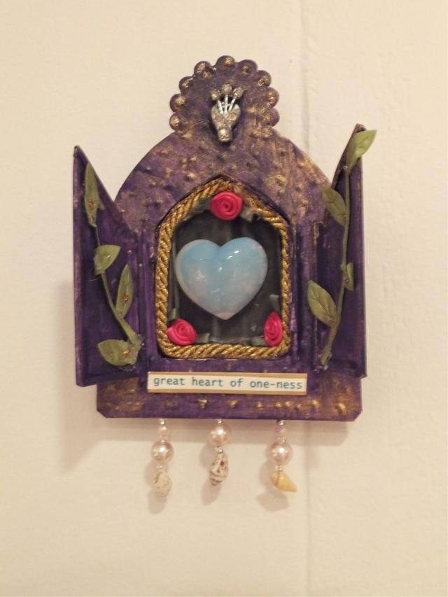 Sacred shrine by Leslie